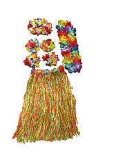 Hawaiian Halloween Costume 3 Black Flower Hawaiian Lei Halloween Costume Gothic Dress Ebay
