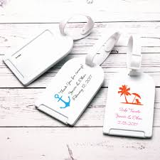 themed luggage tags 25 lovely themed wedding favors wedding idea