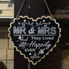 aliexpress com buy 2016 wooden wedding sign heart black board mr
