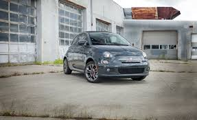 2017 fiat 500c manual test review car and driver