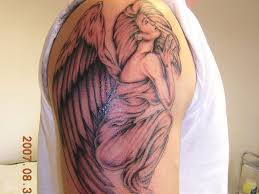 24 compelling fallen angel tattoo