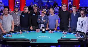 wsop final table the nine final nine set for 2016 world series of poker main event poker news