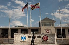 Calvert County Flag Solomons Volunteer Rescue Squad Fire Department Calvert County