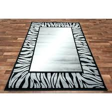 Zebra Runner Rug Brown Zebra Area Rug Decoration Brown Zebra Area Rug Zebra Runner