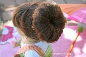 sock hair bun doll hair the fabulous sock bun doll it up