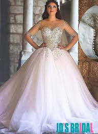 Princess Wedding Dresses H1664 Sparkly Sweetheart Tulle Princess Wedding Dresses On The Hunt