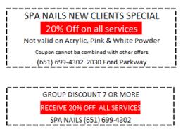 spa nails of highland park 651 699 4302