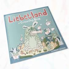 liebetland colouring book imagnary house