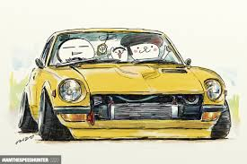old cars drawings overwhelmed by your incredible automotive art speedhunters