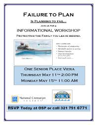 national cremation society failure to plan informational workshop with national cremation