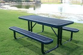 Cheap Picnic Benches Metal Frame Picnic Table Plans Tables Cheap 31451 Interior Decor