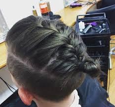 man braid hairstyle guide new braided man bun trend man bun