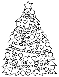 Christmas And New Year Raquo Page 5 Raquo Coloring For Kids Children S Tree Coloring Pages