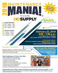 san antonio apartment association maintenance mania 2018
