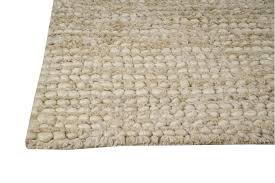 Hemp Area Rug Nature Collection Woven Wool And Hemp Area Rug In White