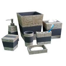 grey bathroom accessories you u0027ll love wayfair