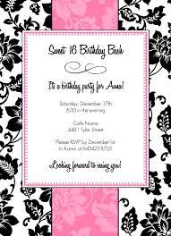 2 excellent sweet 16 birthday invitations free eysachsephoto