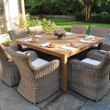 Ikea Teak Patio Furniture - table wood outdoor dining table home design ideas