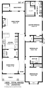 craftsman style house plan 3 beds 2 baths 1600 sq ft plan 424