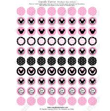 Minnie Mouse Easter Sticker Minnie Mouse Light Pink Printable Hershey S Stickers