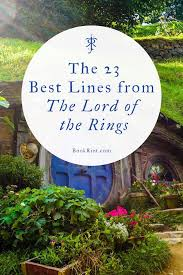 of the best the lord of the rings quotes book riot