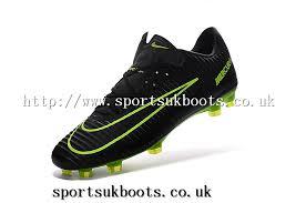 buy football boots nike mercurial vapor xi fg mens football boots black green nike