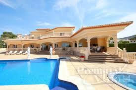 Reihenhaus Zu Kaufen Luxus Immobilien Calpe Costa Blanca Spanien Zu Verkaufen