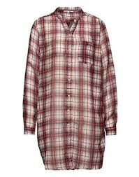 lollys laundry lollys laundry lightweight oversized checked blouse shirt
