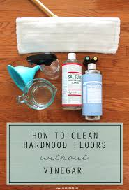 how to clean hardwood floors without vinegar vinegar white