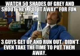50 Shades Of Gray Meme - having fun with 50 shades of grey