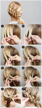 Hochsteckfrisuren Mittellange Haare Einfach by Genial Frisuren Für Lange Haare Zum Selber Machen Einfach Deltaclic