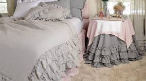 vintage ruffle duvet cover a cottage in the city regarding elegant