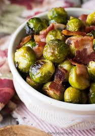 oven roasted brussels sprouts with bacon a family feast