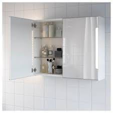 storjorm mirror cabinet w 2 doors u0026 light 31 1 2x5 1 2x37 3 4