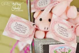 piggy bank party favors greygrey designs my avery s three pigs party