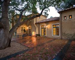 exterior colors and finishes warm sand stucco aged red tile