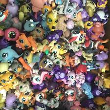 lot littlest pet shop animals cats dogs kids children birthday