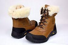 ugg s adirondack otter waterproof boots ugg australia womens adirondack ii boots otter ott 5469 5 5 ebay