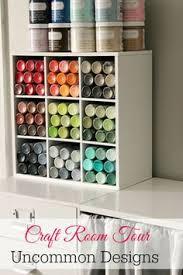 Craft Room Closet Organization - paint storage ideas studio craft room craft organization