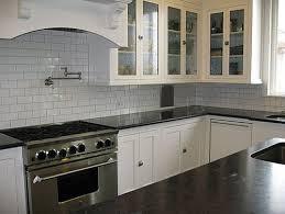 white subway tile kitchen white kitchen subway tile soapstone counters