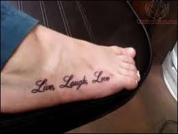 live laugh on tats