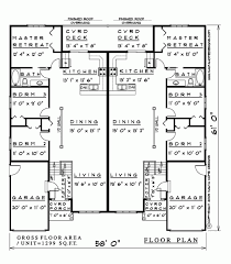Cottage Floor Plans Ontario 3 Bedroom Semi Detached House Plan Sm127 1299 Sq Feet