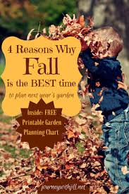 why fall is the best time to start planning next year u0027s garden