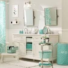 teenage girl bathroom decor ideas get ready stand dottie teen bathrooms teal and pottery