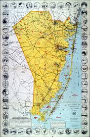 New Jersey Map Historical Ocean County New Jersey Maps