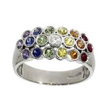 coloured wedding rings images Civil wedding rings archives nicholas wylde jpg