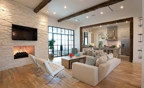 tapeten fr wohnzimmer mit weien hochglanz mbeln 93 ideen zur wandgestaltung mit holz stein tapete und mehr