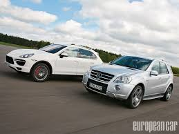 2011 Porsche Cayenne - 2010 mercedes benz ml 63 amg and 2011 porsche cayenne turbo