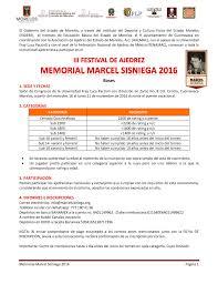 cupos electronico 2016 federación nacional de ajedrez de méxico morelos iii festival