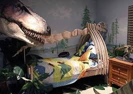 Sunday Style Over The Top Bedrooms Themed Rooms Dinosaur - Kids dinosaur room